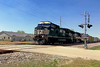 Norfolk Southern freight (SteveMather) Tags: ns norfolk southern diesel 8354 572 freight crossing vermilion ohio lakeerie