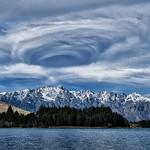 Swirling Vortex Over Lake Wakatipu thumbnail