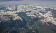 Summer Alps (Andy.Gocher) Tags: andygocher canon100d canon100dsigma18250 sigma18250 europe italy alps alpine clouds landscape snow windowseat aeroplaneseat aeroplanewindow flying aerial