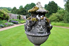 Urn of Life! (springblossom3) Tags: stonework urn moss lichen art waterperry gardens wheatley