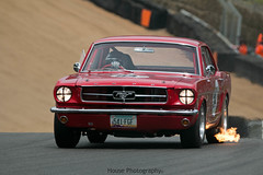* Flaming Mustang * ({House} Photography) Tags: pre 66 touring cars masters historic festical classic brands hatch uk fawkham kent gp circuit car automotive canon 70d sigma 150600 contemporary housephotography timothyhouse ford mustang 1965 65 american muscle flames exhaust overun