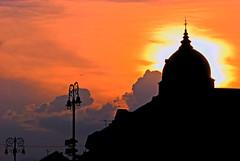 Sunset in Zagreb (Matjaž Skrinar) Tags: zagreb 1025fav 100v10f 250v10f 500v20f