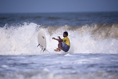 Surfing 42 (dAzEd n' cOnfUsEd) Tags: surfingday surfingcontest surfing kudla mangalore karnataka india karnatakatourism nikon d700 500mm nikonindia beach beachbum iosurfing2017 incredibleindia sports watersport sportsphotography surfingphoto surfingphotography water ocean waves