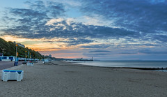 Seaside (nicklucas2) Tags: seascape beach boat sea sand seaside solent groyne bournemouth
