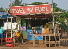 FUEL FOR MAN & THE MACHINE (GOPAN G. NAIR [ GOPS Photography ]) Tags: gopsorg gopangnair gops photography gopsphotography fuel india funny street photo