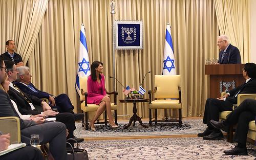Ambassador Nikki Haley visit June 2017