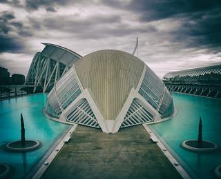 Tomorrowland. Valencia, Ciudad de las Artes y las Ciencias By Santiago Calatrava (wYW)