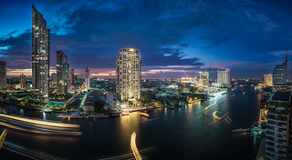 Chao Phraya River Blues (explored)