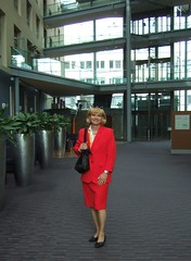 Dorint hotel (Marie-Christine.TV) Tags: feminine transvestite lady mariechristine tgirl tgurl tv skirtsuit kostüm secretary sekretärin businesssuit elegant