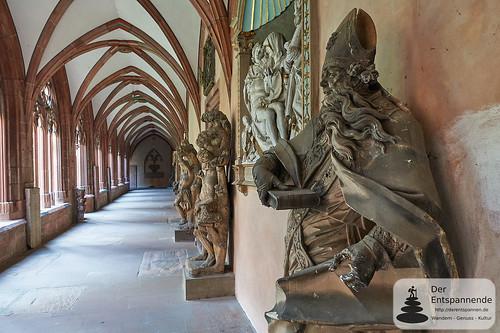 Kreuzgang des Mainzer Doms