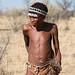 San Bushmen portrait
