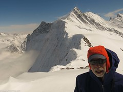A nice summit in the bernese oberland