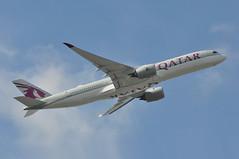 'QR1C' (QR0008) LHR-DOH (A380spotter) Tags: takeoff departure climb climbout belly beacon strobe airbus a350 a350xwb™ xtrawidebody extra 900 a7alp qatar القطرية qatarairways qtr qr qr1c qr0008 lhrdoh runway09r 09r london heathrow egll lhr