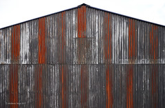 Barn (I)/Granero (I) (Modesto Vega) Tags: nikon nikond600 d600 fullframe barn rust corrugatediron abstract form geometry