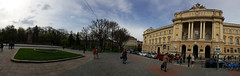 Panorama of Lviv University (tarmo888) Tags: samsunggalaxy s6edge android smartphone geotaggedphoto geosetter sooc photoimage фотоfoto year2017 ukraine україна ukrayina украи́на украина lviv lwów lvov lemberg львів львов leopolis lwow