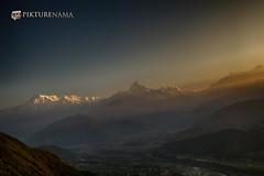 sarangkot- sunrise-26 p logo (anindya0909) Tags: nepal sarangkot sunise sunrise