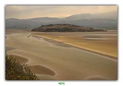 PORTMEIRION - ESTUARY OF THE DWYRYD (3) (régisa) Tags: portmeirion estuary estuaire wales galles gwynedd cymru dwyryd sable paysage thedurutticolumn