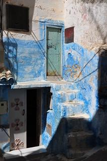 Portes et couleurs, Moulay Idriss Zerhoun, province de Meknès, Maroc.