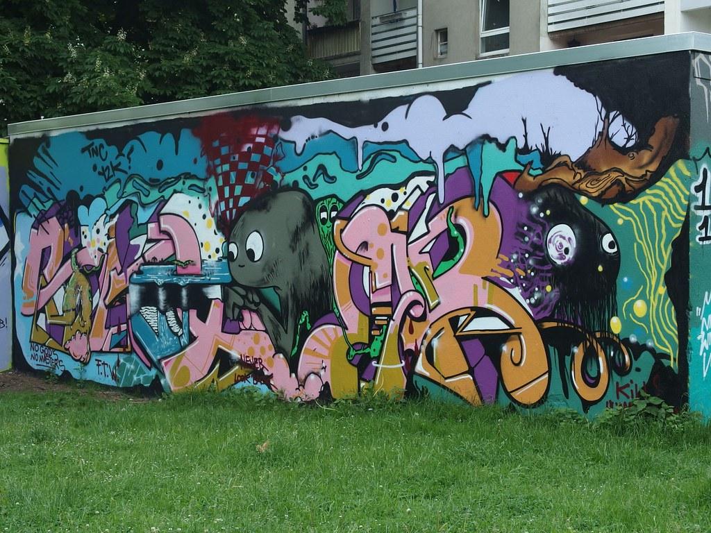 Graffiti zimmerwand graffitti gesicht 3d graffiti color art wall murals paper print decals - Graffiti zimmerwand ...