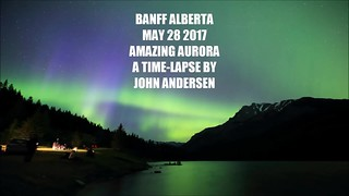 May 28 Banff Aurora