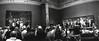 "Watching the Night Watch (pho-Tony) Tags: amsterdam horizon202 fujineopan400 bw monochrome expired fuji neopan iso 400 blackandwhite film rodinal industar 28mm horizon 202 ""horizon 202"" swing lens swinglens 35mm 135 analogue lomo lomography perfeckt russiancameras russian горизонтперфект горизонт ishootfilm filmisnotdead perfekt kompakt rijksmuseum netherland dutch museum gallery rembrandtvanrijn oldmaster rembrandt harmenszoon van rijnrembrandtrijnmilitia company district ii under command captain frans banninck cocqthe shooting banning cocq willem ruytenburchnightwatchthe night watchde nachtwacht"