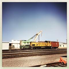 Palm Springs, Joshua Tree National Park & Twentynine Palms and Highway 62 (se_kwien) Tags: unionpacific shuntinglocomotive rangierlokomotive rangierlok arizona parkerarizona parker