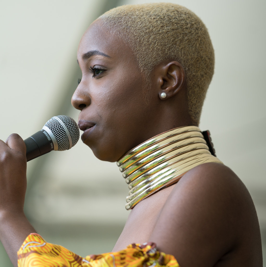 NC GREY IS A SOUL SINGER SONGWRITER [SHE PERFORMED AGAIN AT AFRICA DAY IN DUBLIN]-128598