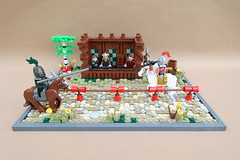 Knights Tournament - ABS Builder Challenge Part 2 (-Balbo-) Tags: lego moc knight tournament abs builder challenge bauwerk creation castle balbo
