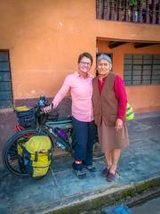Amanda and Mirita in Cajamarca, Peru.