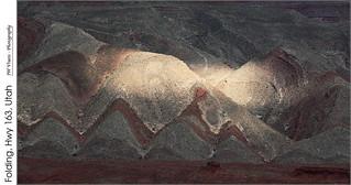 Folding, Hwy 163, Utah