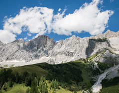 Alpine Summer (desomnis) Tags: mountains alps alpen nature photography austria oberösterreich österreich upperaustria clouds sky skyandclouds trees dachstein landscapephotography desomnis canon 6d canon6d