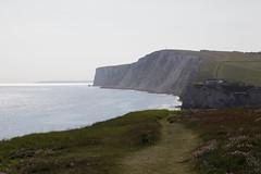 Purbeck in the distance & Tennyson Down (Carneddau) Tags: chaletofreshwater freshwaterbay isleofwght isleofwightcoastpath purbeck tennysondown england unitedkingdom