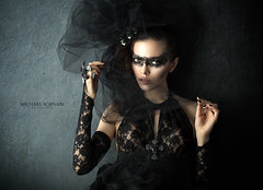 Dark Goddess (X-Photographer) Tags: fashion dark black gothic outfit portrait
