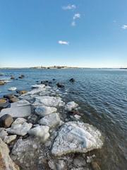 Kaivopuisto, Helsinki, March 23rd 2017. #kaivopuisto #visithelsinki #helsinki #visitfinland #gopro #hero5 #goprohero5 #meri #sea #landscape #seascape #jää #ice #jäässä #jäätynyt #frozen #sunrise #auringonnousu (Sampsa Kettunen) Tags: kaivopuisto landscape jäässä ice jäätynyt helsinki jää auringonnousu hero5 meri sea gopro frozen visitfinland visithelsinki seascape sunrise goprohero5