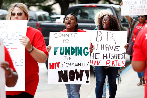 Baton Rouge Clinic Defunding Protest (6/28/17)