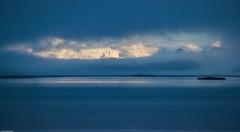 Blue mist, Iceland (Vagabundina) Tags: morning fog mist sea water nature landscape scenery iceland southiceland lagoon laguna mountain ice sunrise atmosphere ambience europe island nikon nikond5300 dsrl