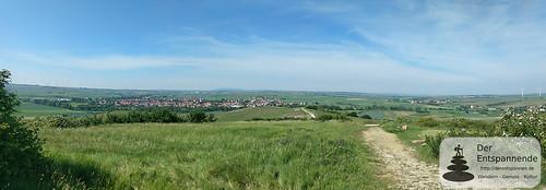 Panoramablick vom Petersberg (weit, weit weg: Donnersberg)