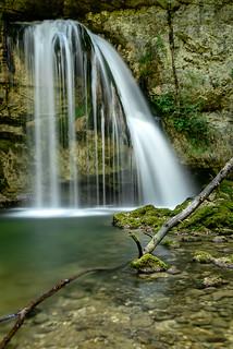 La cascade des Combes (Fr-39)