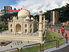 Taj Mahal Model at Legoland, Malaysia