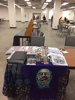 LA Zinefest 2017 table set up1