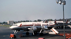 Chicago Midway Airport - Capital Airlines - Lockheed Constellation (twa1049g) Tags: chicago midway airport capital airlines lockheed constellation 1954 n90621