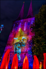 Guardians of Time (KSDiaz) Tags: berlin germany festival lights nightscape landscape after dark guardians light night projector design color guardiansoftime time mysterious