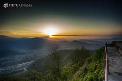 sarangkot- sunrise-20 p logo (anindya0909) Tags: nepal sarangkot sunise sunrise