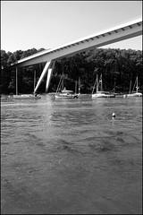 Pont Joseph Le Brix / Pont de Kernours enjambant la rivière du Bono (Bretagne, Morbihan, France) (bobroy20) Tags: pont bridge lebono morbihan pontjosephlebrix