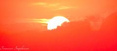 Hiding :) (Francesco Impellizzeri) Tags: trapani sicilia sunset clouds