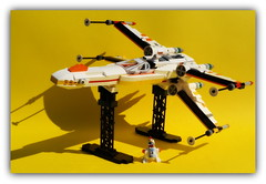 Star chicken wars . (peter-ray) Tags: rogue brick moc x ala tie shipthember ray peter warship si ship space minifigure wars star lego ywing fightere shi fii chicken pollo samsung nx2000
