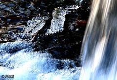 Icy Fall (2) (Mahmoud R Maheri) Tags: ice frozenwater waterfall iran sepidan river bubbles twig ardakan