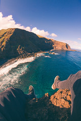 The air that I breathe (Sergio11989) Tags: canary islands paradise fisheye relaxation beach sea sun sunset golden hour landscape la palma seascape ocean summer chill vibes explore