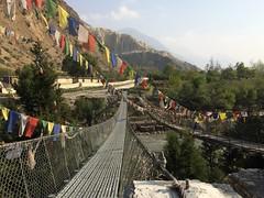 IMG_4224 (RubyWhatever) Tags: annapurnacircuit nepal day16 finalday marpha tuk marphatotukuche bridge suspensionbridge