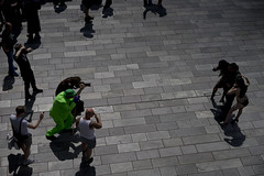 Green photographer (jamiethompson01) Tags: comic con 2017 london excel dlr movies marvel video games pop culture batman spiderman star wars mcm multigenre fan convention bank holiday street candid martin parr british uk england people event day